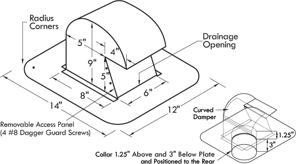 DryerJack 486 Specifications