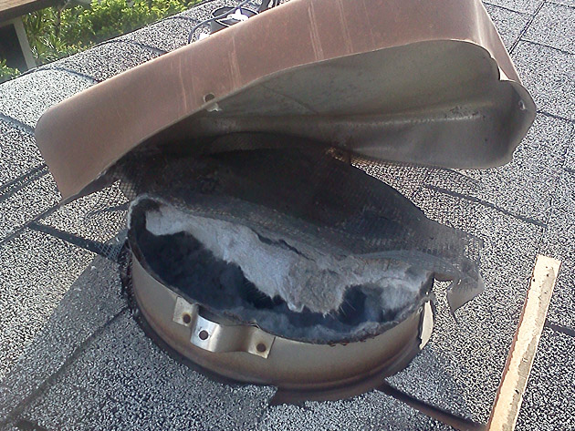Dryer Vent Through Attic To Roof Image Balcony And Attic